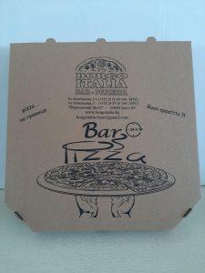 Упаковка для пиццы от ЕРАНА
