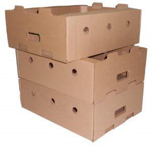 Коробки для овощей из картона