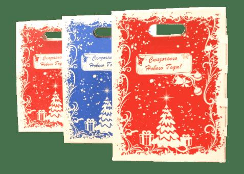 Картонные новогодние коробки